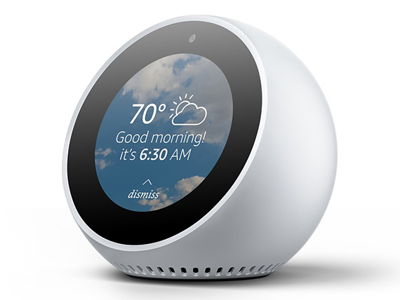 La nueva alarma inteligente de Amazon — Echo Spot