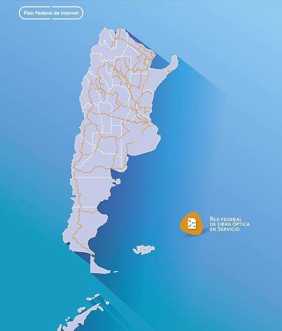 Arsat conecta Tierra del Fuego con su red de fibra