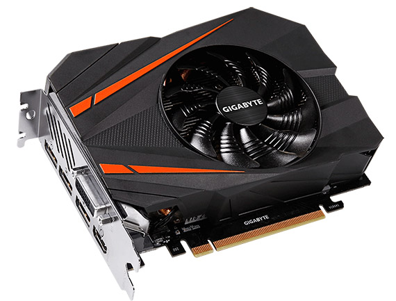 GIGABYTE presenta la GeForce GTX 1080 Mini ITX 8G