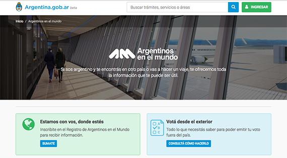 El Gobierno Lanz Una Web Para Los Argentinos Que Viajan Al Exterior Canalar