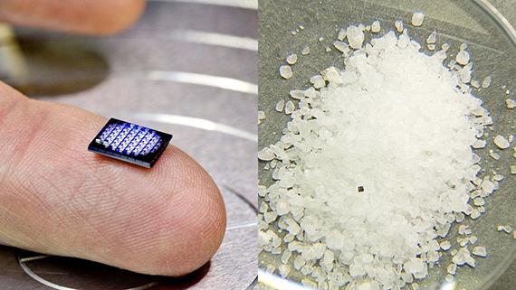 IBM presentó la computadora más pequeña del mundo