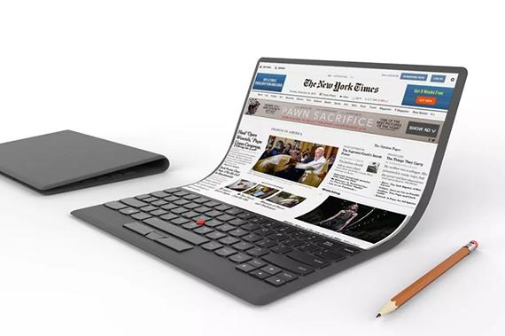 Así es el portátil del futuro, según Lenovo — Tecnología