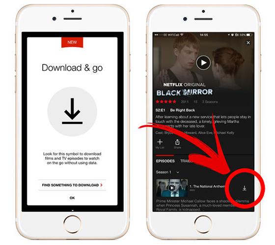 Otro golpe a la TV: Netflix ahora permite descargar series y películas