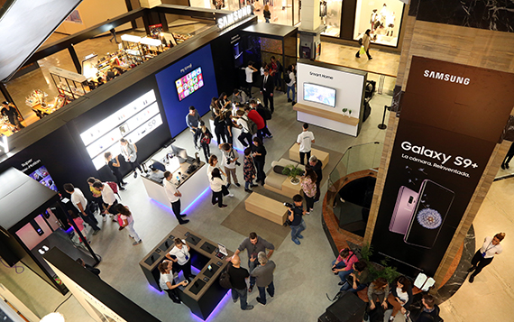 Asi Es El Nuevo Samsung Galaxy Studio De Unicenter Canalar