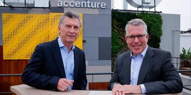 Accenture inauguró sus oficinas en el Distrito Tecnológico