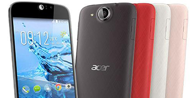 Acer lanza Liquid Jade S, su primer smartphone de 64 bits