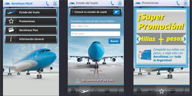 Aerol�neas Argentinas lanz� una App para el Check-in M�vil