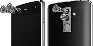Así es Alcatel Flash, el primero con dos cámaras dobles