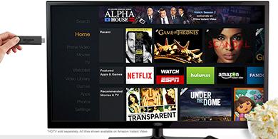 Amazon lanza Fire TV Stick y desaf�a a Google Chromecast