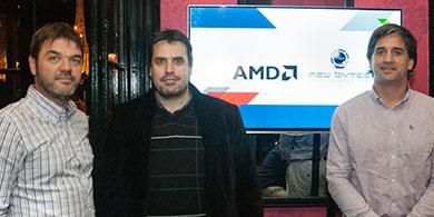 AMD se al�a con New Bytes y expande su oferta en Argentina