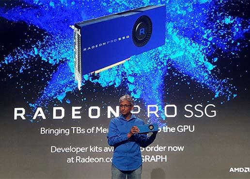 As� es AMD Radeon Pro SSG, la primer tarjeta gr�fica con disco SSD