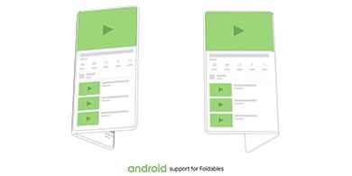 Android tendrá funciones especiales para los dispositivos con pantalla plegable