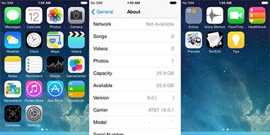 Apple iOS 8 desembarca en M�xico