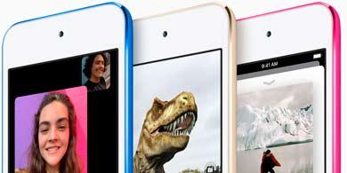 Apple lanzó un nuevo iPod touch, ahora con realidad aumentada y Group FaceTime