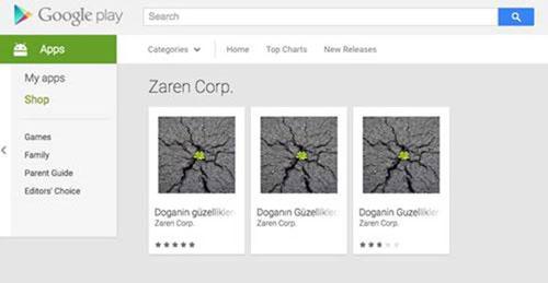 virus en Google Play