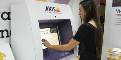 Axis lanza sus c�maras para cajeros autom�ticos en Chile