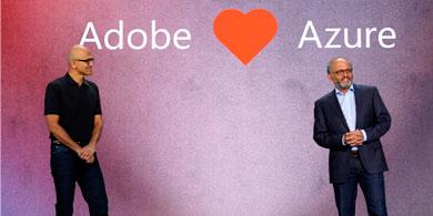 Alianza entre Microsoft y Adobe para potenciarse en la Nube