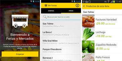 Nueva App del gobierno porte�o: BA Ferias