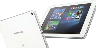 Bangh� lanz� la tablet Aero J08, con Windows 10