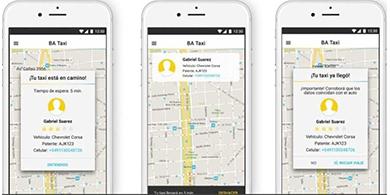 Ya se puede pedir un BA Taxi, el Uber porteño