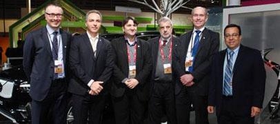 Berner se reuni� con Motorola, Alcatel y Ericsson por el despliegue del 4G