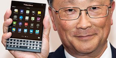 BlackBerry lanza Passport, su smartphone cuadrado
