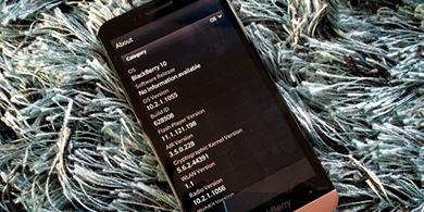 La última versión de BlackBerry 10 llega a Perú