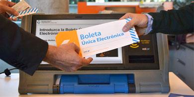 BUE, la Boleta �nica Electronica para las elecciones porte�as