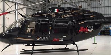 Cabify lanzó su servicio de helicópteros en CDMX