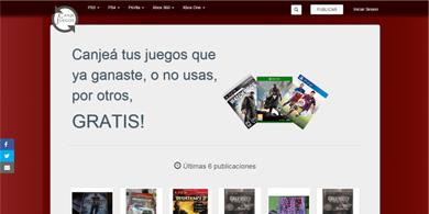 CanjeJuegos.com, un nuevo sitio para el intercambio de juegos de consolas