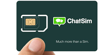 Llega a Chile la SIM que permite mensajear desde cualquier país