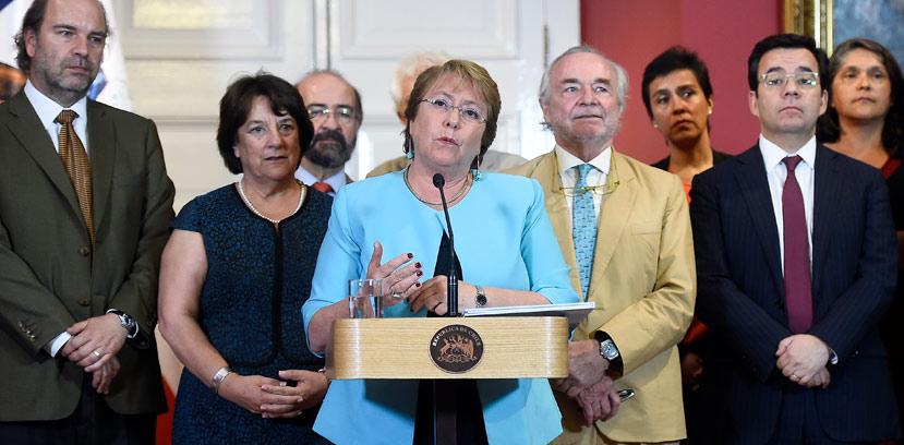 Bachelet env�a un proyecto para crear el Ministerio de Ciencia y Tecnolog�a