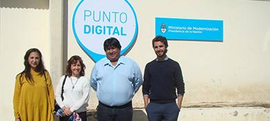 Chubut inaugura un nuevo Punto TIC para alfabetización digital