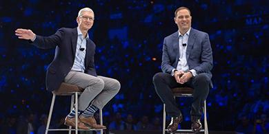 Cisco Live 2017: Chuck Robbins y Tim Cook anunciaron una nueva alianza
