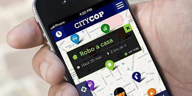 Llega Citycop, la app para prevenir hechos delictivos