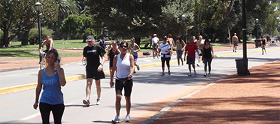 Recoleta tendrá su pista de running con wearables y sensores