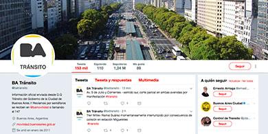 Vía Twitter, la Ciudad te avisa cómo está el tránsito en tu barrio