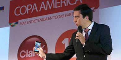 Claro Chile lanza su app para la Copa América
