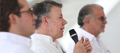 El presidente Santos hizo un balance TIC: