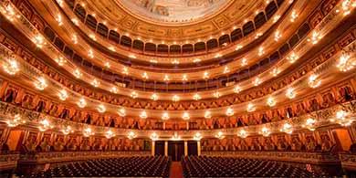 El Teatro Col�n en 360�, como nunca lo viste, filmado con 10 GoPro Hero 4