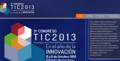 Facultad de Ingeniería UDP organiza el 3er Congreso TIC 2013
