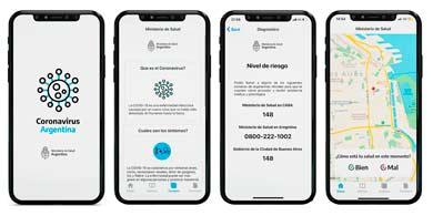 El Gobierno lanzó la aplicación Coronavirus Argentina. ¿Qué información brinda?