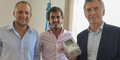 Macri se reunió con los desarrolladores de medidores IoT