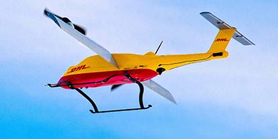 Un dron de DHL concret� la primer entrega a un usuario