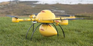 DHL env�a medicamentos a trav�s de drones en Alemania