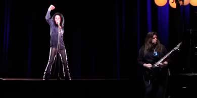 Ronnie James Dio vuelve a la Argentina, como holograma