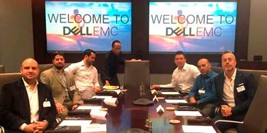 Dell EMC recibió en Austin, Texas, al canal de Distecna