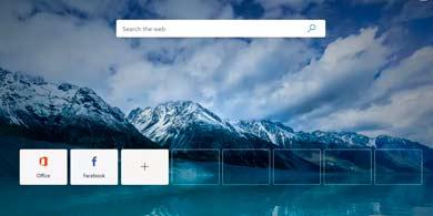 Microsoft lanzó su nuevo browser Edge en versión test