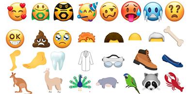 Estos son los 67 emojis Unicode del 2018