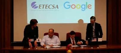 Google firma un memorandum con Cuba para mejorar la conectividad